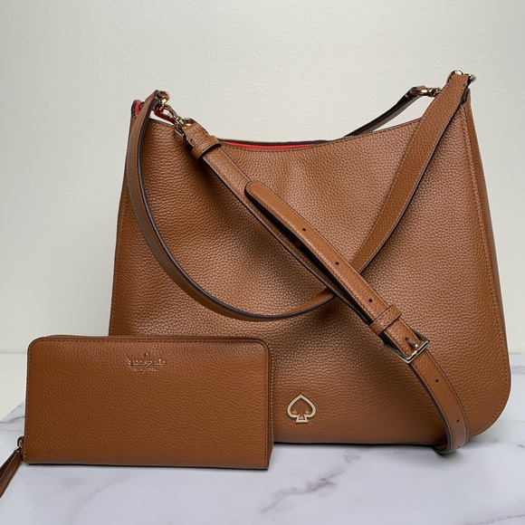 kate spade Handbags - Kate Spade Large Leather Purse and Wallet Set
